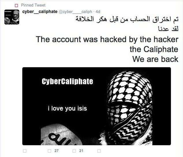 Apparently ISIS Hacked 54,000 Twitter Accounts In Revenge For Drone Attack UNILAD isis hack 228137