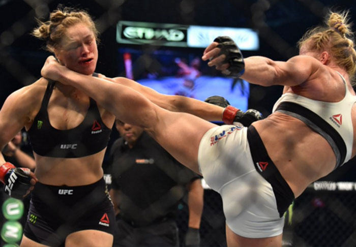 Brutal Knockout Sent Ronda Rousey To Hospital In Need Of Plastic Surgery UNILAD ko399099