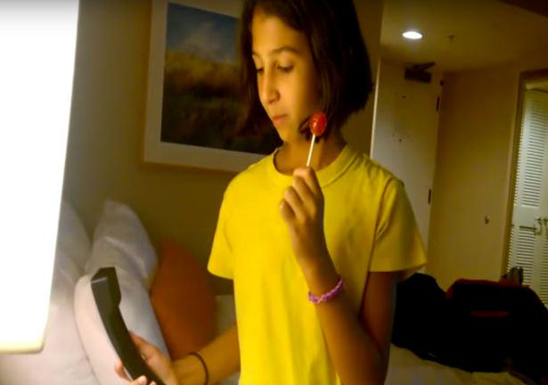 Watching This Girl Struggle To Use Landline Is Hilarious UNILAD layla184938