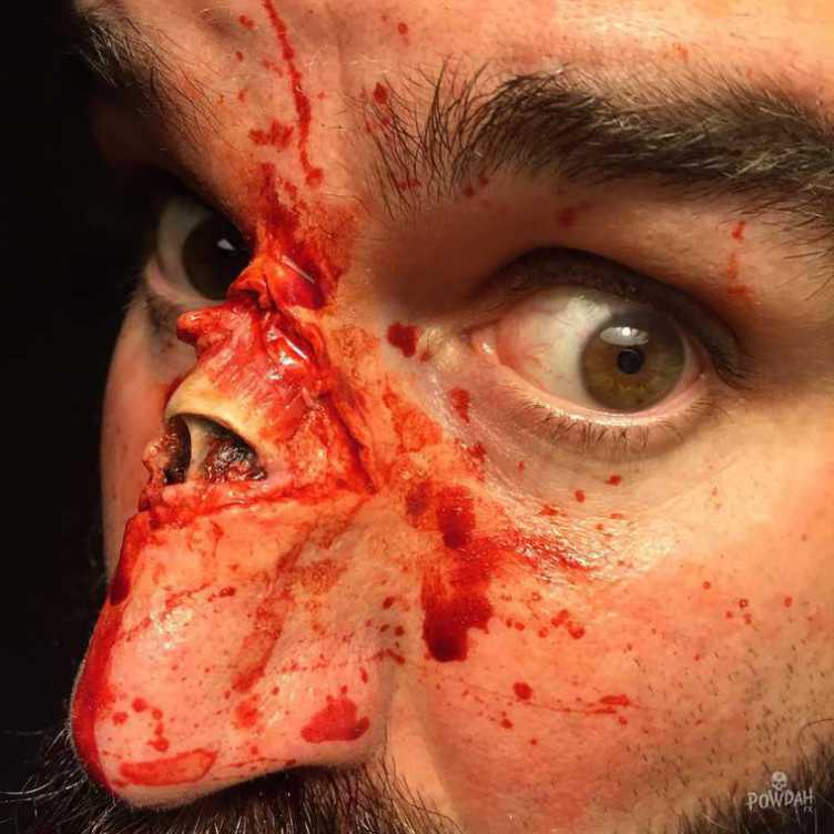 These Disgusting Cuts And Injuries Are Actually Incredible Makeup Work UNILAD m8Te8If30675