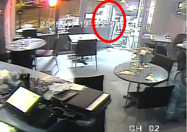 Video Shows Luckiest Woman Alive Escaping Point Blank Shooting By Paris Attacks Mastermind UNILAD man with gun11229