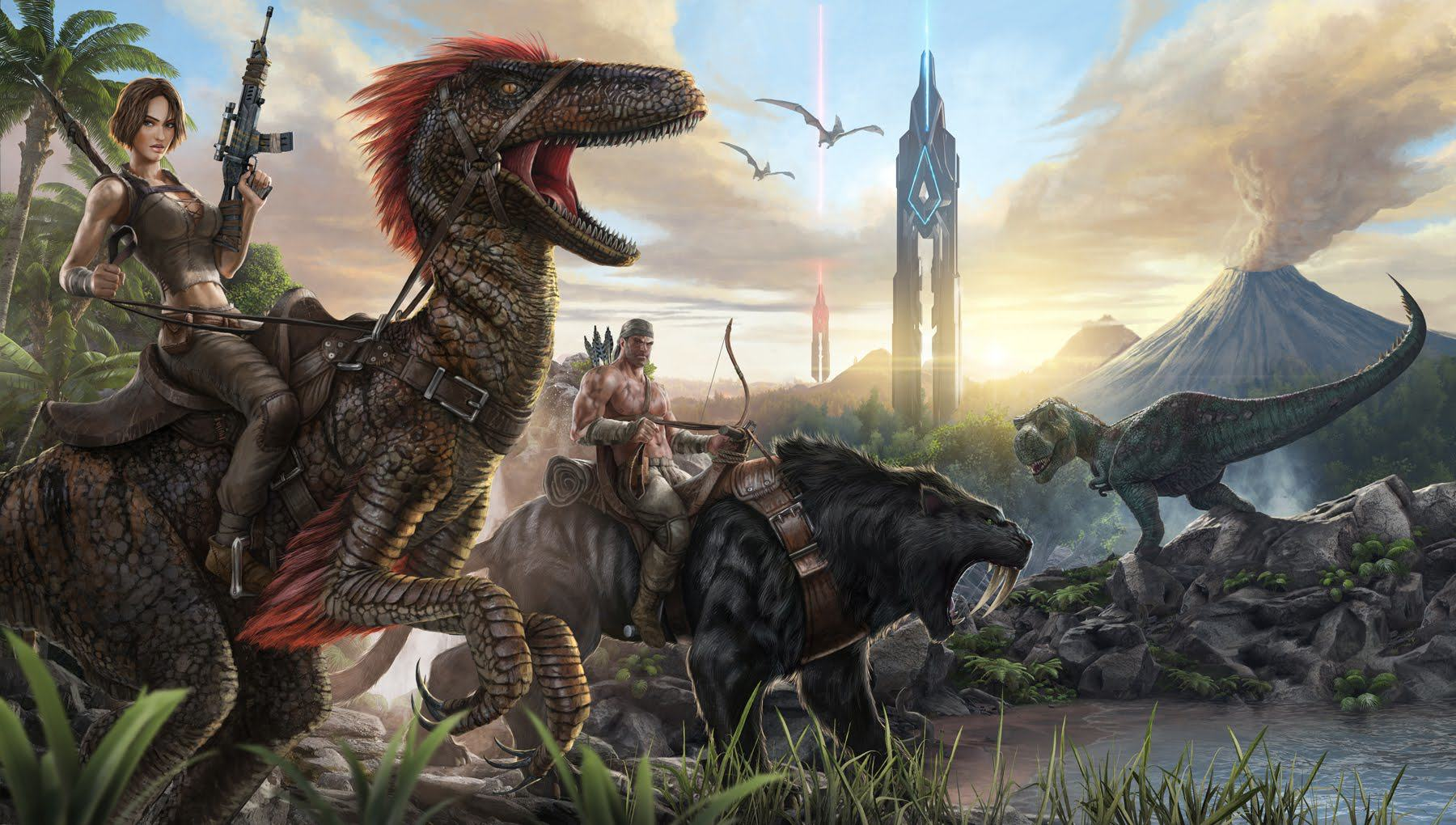 Good Ark: Survival Evolved Coming To Xbox One Imminently Say Devs UNILAD  Maxresdefault72307