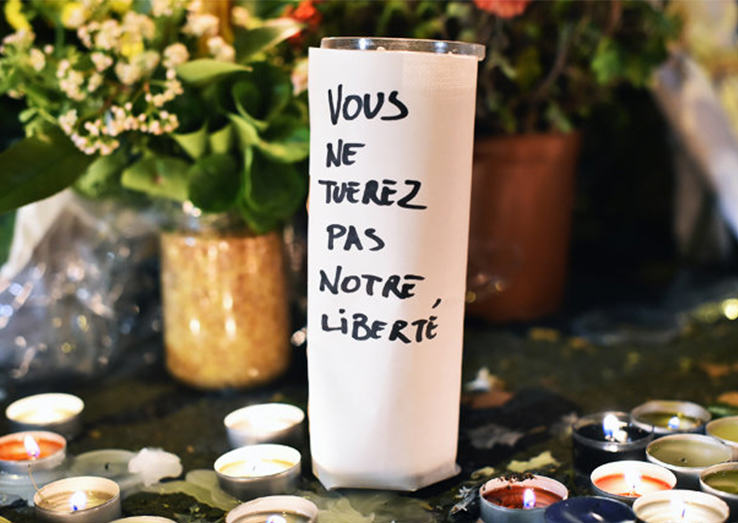 Man Whose Wife Died In Paris Attacks Writes ISIS A Defiant Letter UNILAD memorial37946