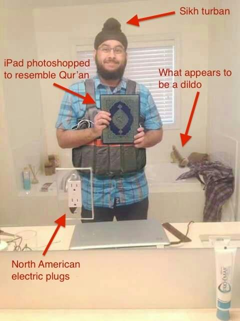 Someone Photoshopped An Innocent Sikh Man To Frame Him For Paris Attacks UNILAD paris attack fake 386853