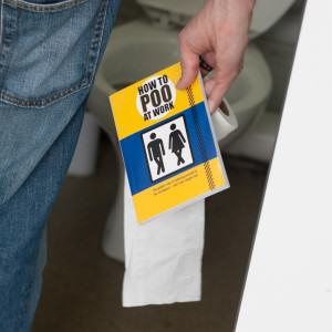 Study Shows Most Women Are Scared To Poo At Work UNILAD poo work49566