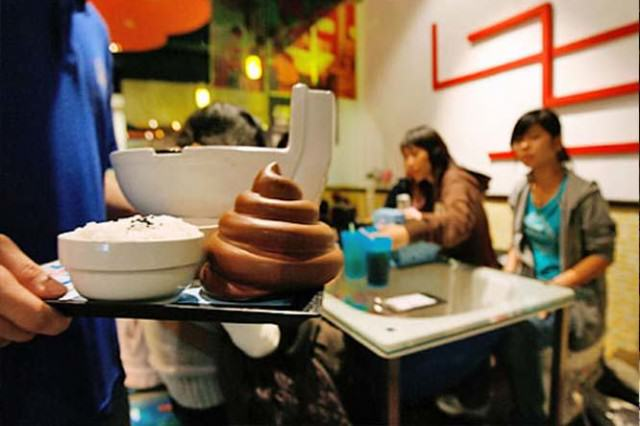 People Are Eating In Toilet Themed Restaurants In Weird New Trend UNILAD poop icecream69545 640x426