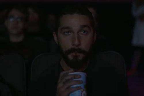 Shia Labeouf Is Livestreaming Shia Labeouf Watching Shia Labeouf Films UNILAD shia drinking 500x33358550