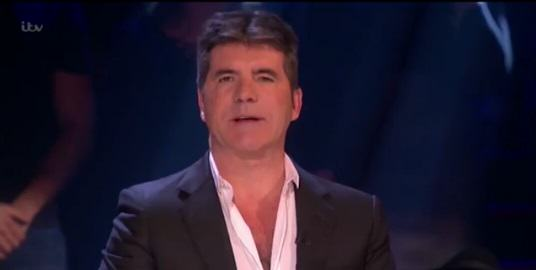 Simon Cowell Halts Live X Factor Show To Respond To Paris Terror Attacks UNILAD simon77176