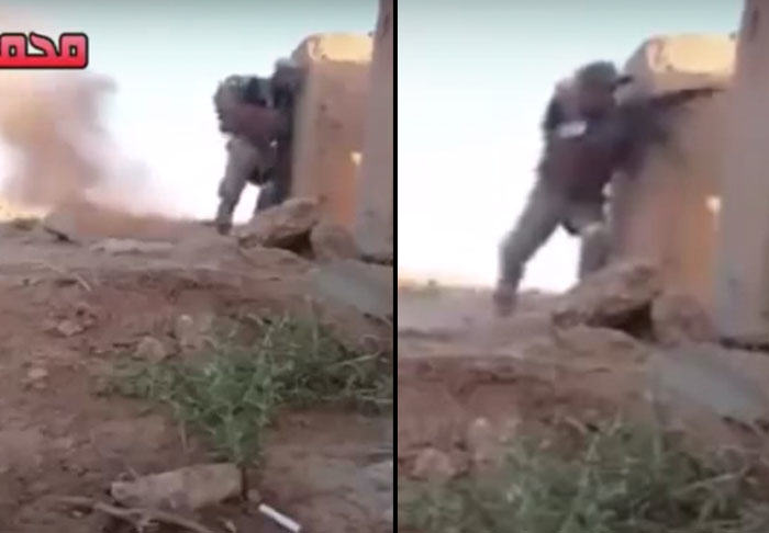 Iraqi Soldiers Quick Thinking Sees Him Outsmart ISIS Sniper UNILAD sniper31797