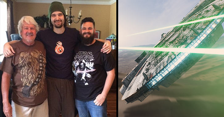 Terminally Ill Lifelong Star Wars Fan, 32, Campaigns To See New Film Before Release UNILAD star wars fan 9106745483