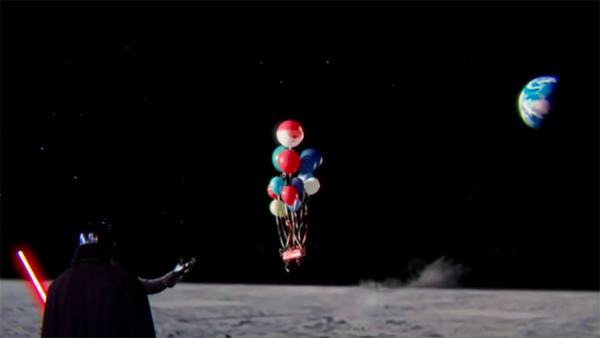 Some Genius Has Mashed Up The John Lewis Ad With Star Wars UNILAD star wars parody ad 133746