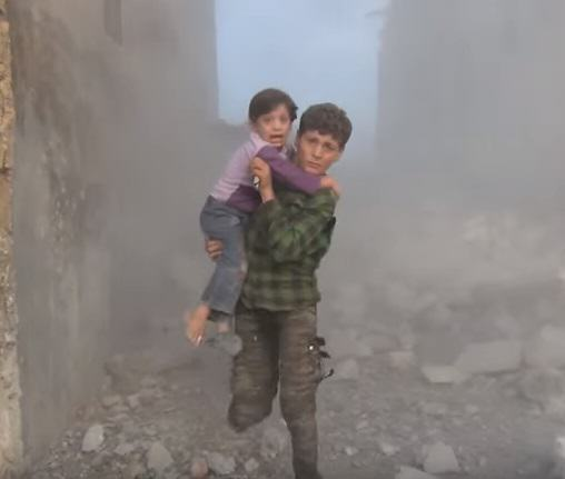 Horrific Footage Shows What Russian Bombs Are Doing To Syrian Villages UNILAD syria 390824