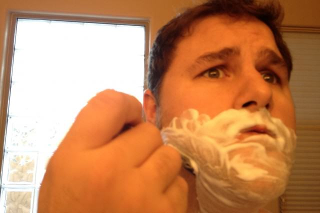 Advice Every Guy In His Twenties Would Give Their Younger Self UNILAD tim agne dad shaving e132751692689066409 640x426