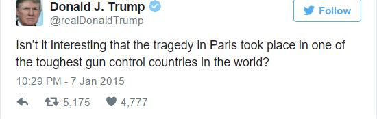 Paris Attacks: Eight Social Media Rumours That Were Completely False UNILAD trump 114497