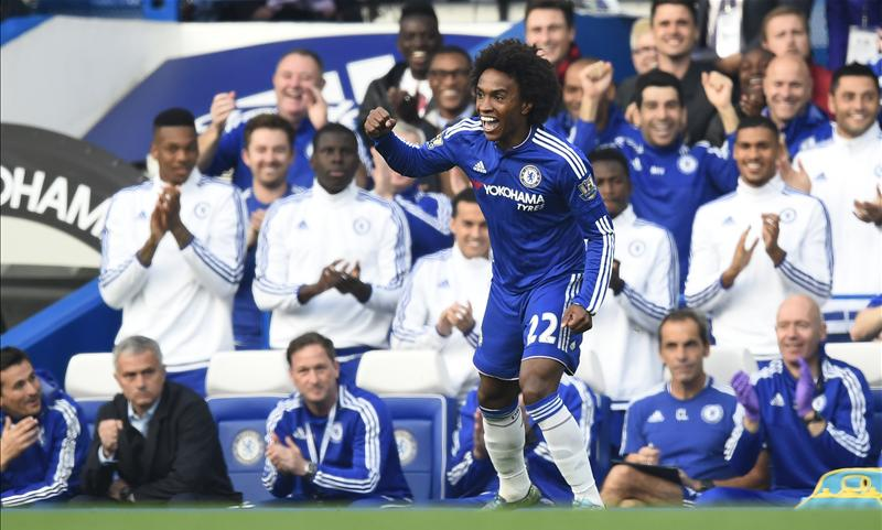 Jose Mourinho Is Chelseas Special One, And The Fans Know It UNILAD willian fk40707