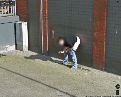 This Woman Got Caught In A Very Compromising Position On Google Earth UNILAD woman peeing google 384394