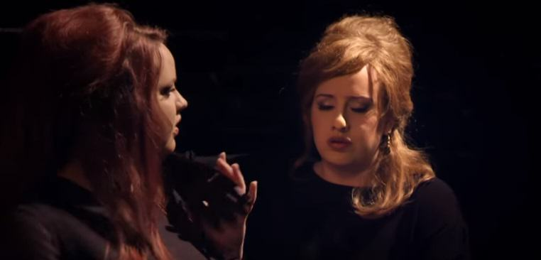 Adele Disguises Herself As An Adele Impersonator, Fellow Adele Impersonators Freak Out adele 4