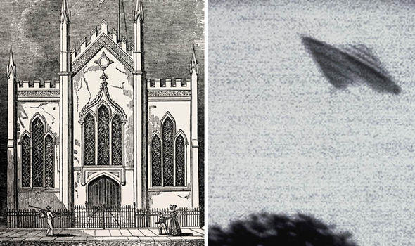 UFO Spotters Claim Aliens First Visited Britain In 1801 alien hull 1