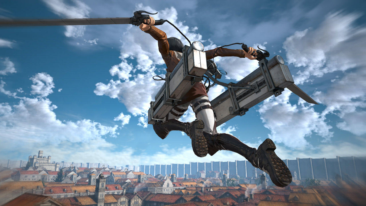 Attack On Titan Release Date Confirmed Alongside Awesome New Trailer aot tgs footage