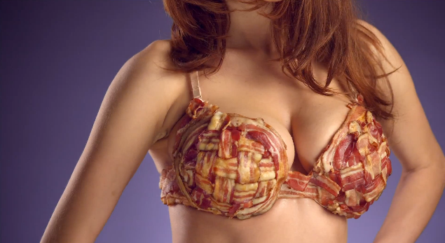 Company Release Bacon Scented Underwear Just In Time For Christmas bacon bra scope 2