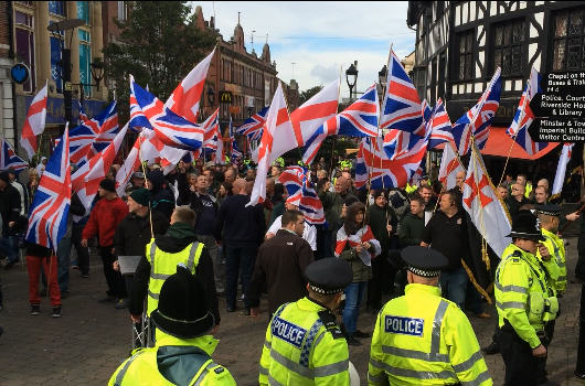 Britain First Call Facebook Fascist After Their Page Is Unpublished bfr