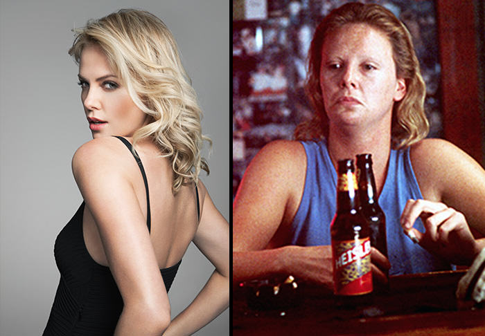 The Five Most Extreme Celebrity Weight Losses and Gains charlize
