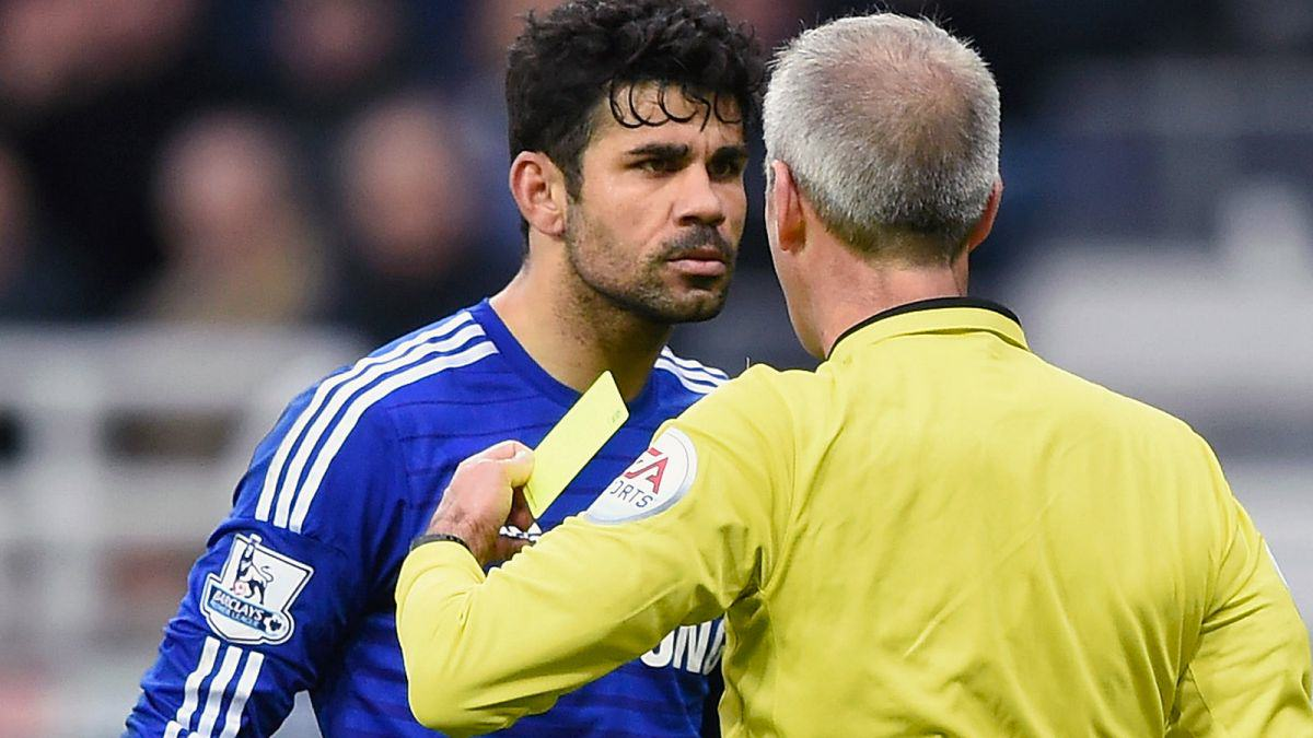 The Ten Biggest C*nts In Football During 2015 costa cunt