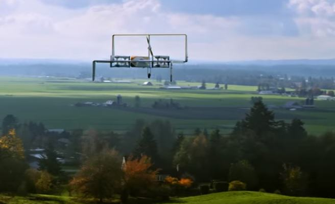 Amazon Demonstrate New Delivery Drones, But Were Not Sure drone