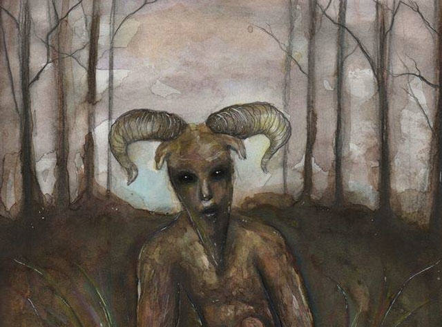 Internet Loses Its Mind Over Alleged Sightings Of Goatman goatman book art1