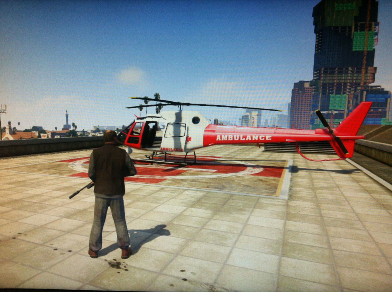 Police Hunt For Bad Santa Who Stole Helicopter gta v helicopter location 4