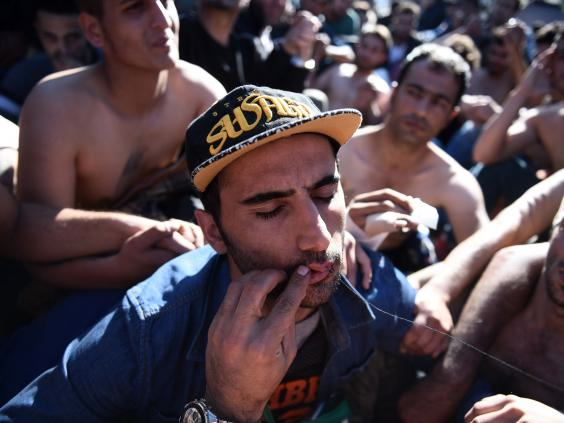 This Is Why Iranian Refugees Are Sewing Their Mouths Shut In Protest iran mouth sewn 2