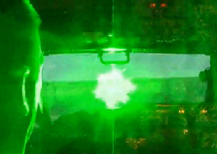 Pilots Eye Seriously Damaged By Laser While Landing Plane At Heathrow laser sight