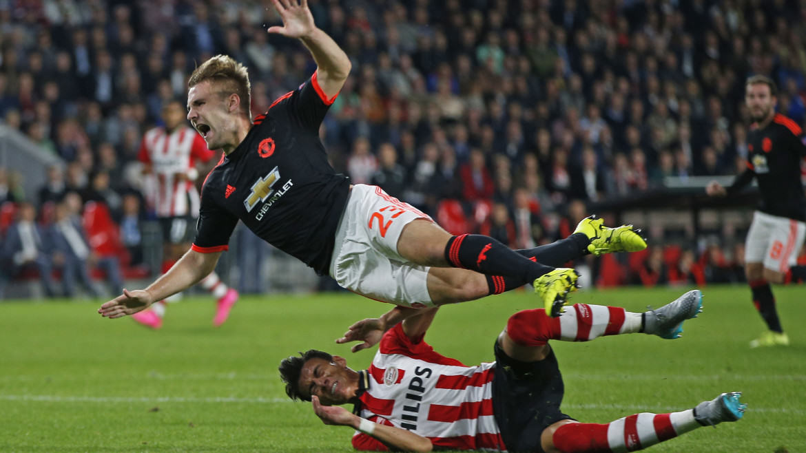 PSV Eindhoven v Manchester United - UEFA Champions League Group Stage - Group B