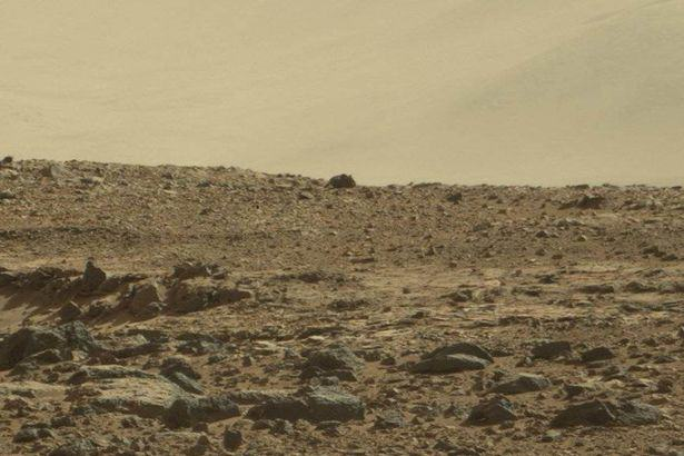 Giant Mouse And Monkey Spotted On Surface Of Mars, Apparently mouse monkey mars 2