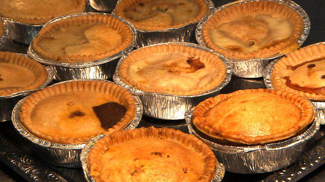 Heres What Football Fans Across Europe Eat pie