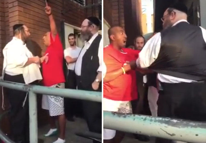 Crazed Man Attacks Rabbi In Broad Daylight, Rabbi Floors The Attacker Perfectly rabbi3