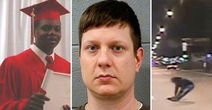 Shocking Dashcam Video Shows White Cop Killing Black Teen By Shooting Him 16 Times shooting chicago FB