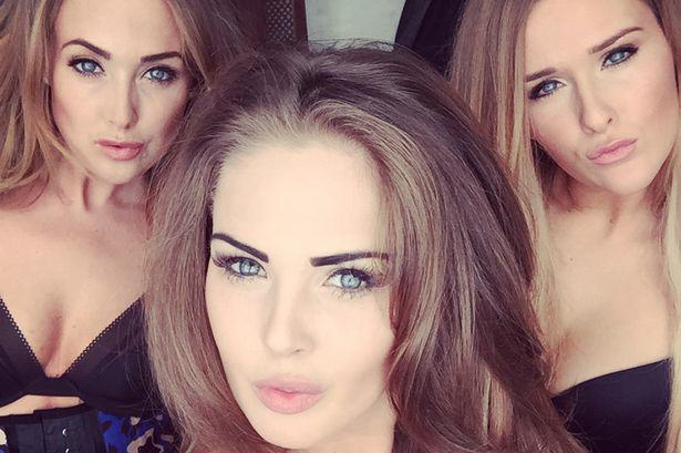 These Sisters Used Their Selfies And Social Media To Rinse Men Of £75,000 Of Gifts sisters selfie 1