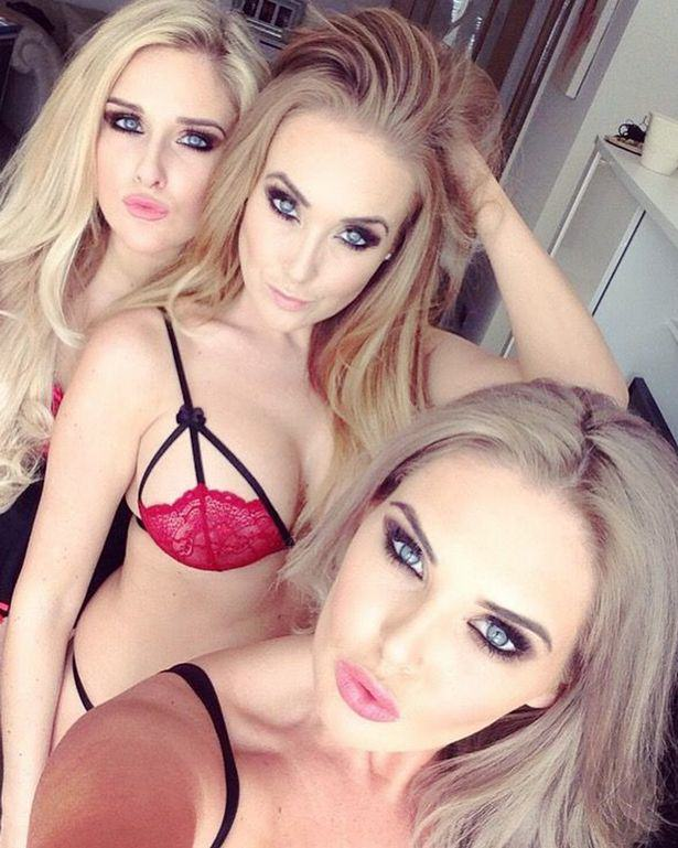 These Sisters Used Their Selfies And Social Media To Rinse Men Of £75,000 Of Gifts sisters selfie 2