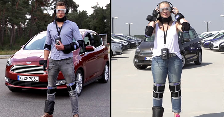 This Drug Driving Suit Simulates What Its Like To Drive High suitfacebook
