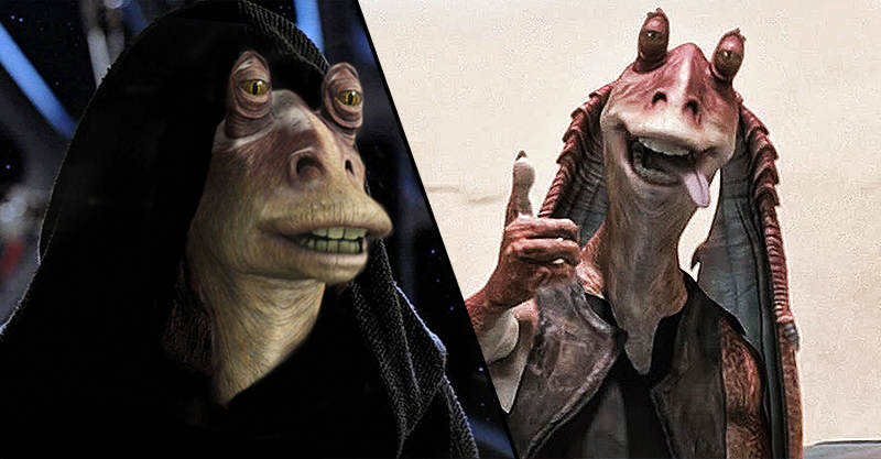 This Jar Jar Binks Fan Theory Changes EVERYTHING About Star Wars wow