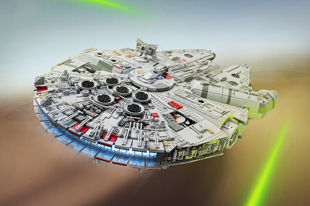 Check Out This Amazingly Detailed Lego Millennium Falcon 23325263653 190a3f7efd z