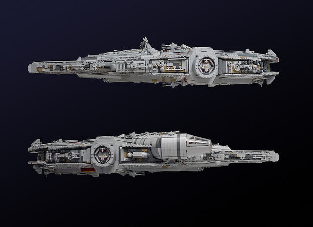 Check Out This Amazingly Detailed Lego Millennium Falcon 23615554559 34a10b2ed1 z
