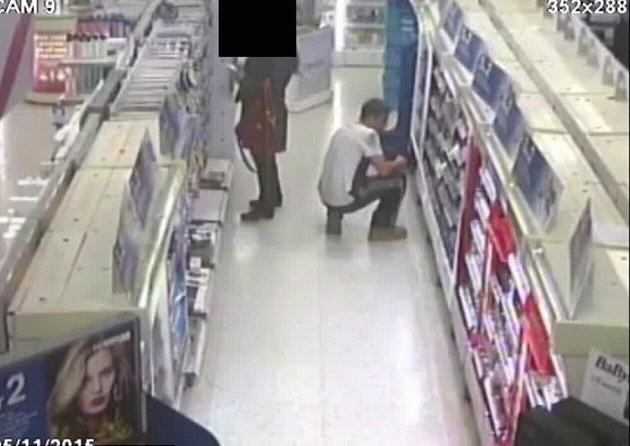 Police Hunting Pervert Caught On CCTV Using His Phone To Look Up Womans Skirt 2F44403500000578 3355582 image m 8 1449819518048 1