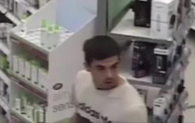 Police Hunting Pervert Caught On CCTV Using His Phone To Look Up Womans Skirt 2F44412D00000578 3355582 image m 10 1449819586255