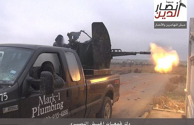 Texas Plumber Sues Car Dealer After Isis Seen Using His Old Truck 2F4E8C3A00000578 0 image a 36 1449931512714