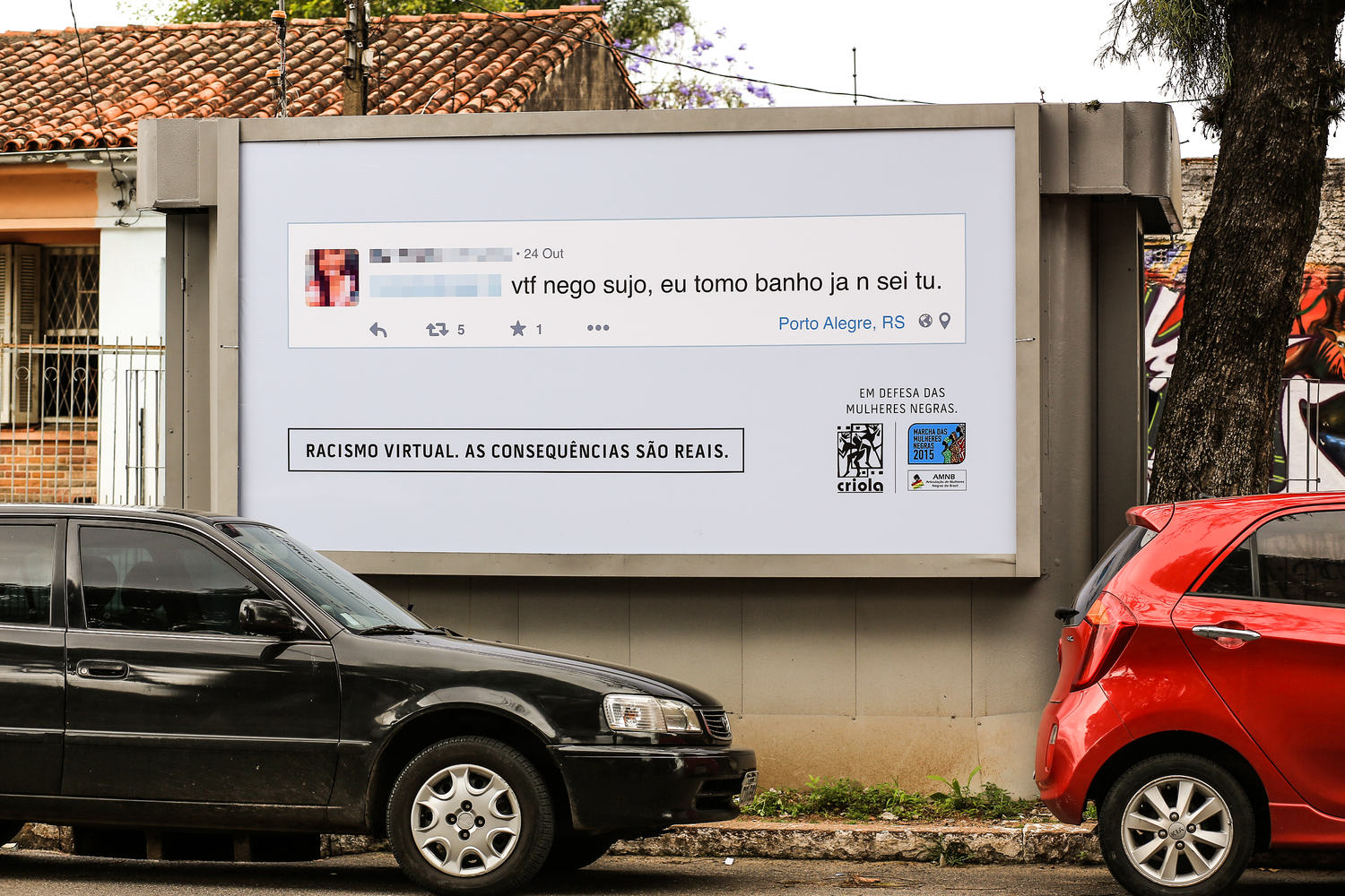 Facebook Racists Beware, Your Comments Could Soon Be Plastered Outside Your House 3