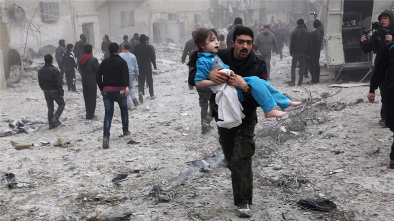 Syrian Girl Hit By Airstrike Thanks Rescuers In Heart Wrenching Video 76b7e7e3d91e4398af51a85f57e01775 18