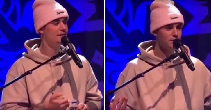 Watch Justin Bieber Make A Really Creepy Joke To Some 14 Year Old Girls FaceThumb 10