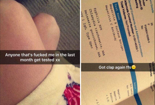 Girl Finds Imaginative Way To Tell Everyone Shes Got An STD, Again FaceThumb 45